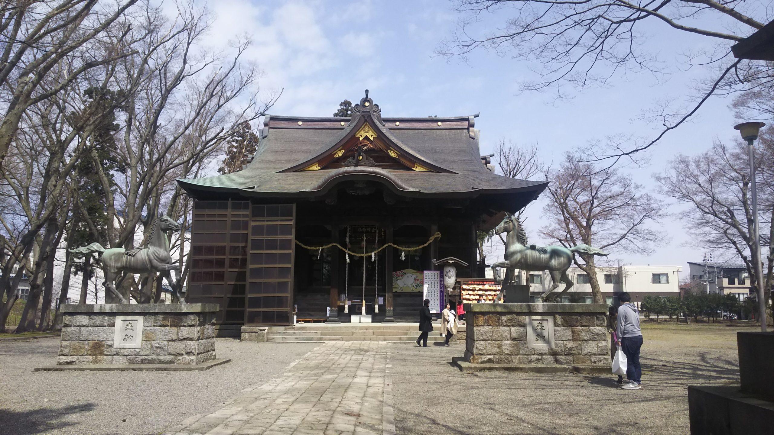長岡市金峰神社にいってきました!【プラスホーム 長岡】